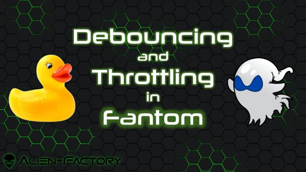 Debouncing and Throttling Event Handlers
