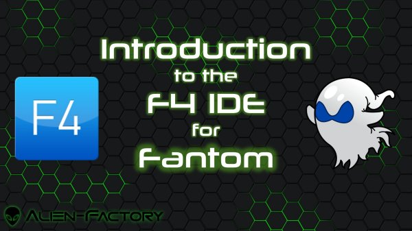 Introduction to the F4 IDE for Fantom
