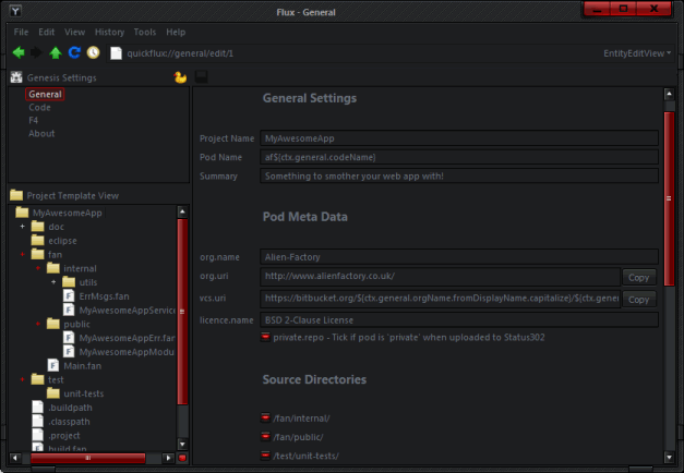 afGenesis Screenshot